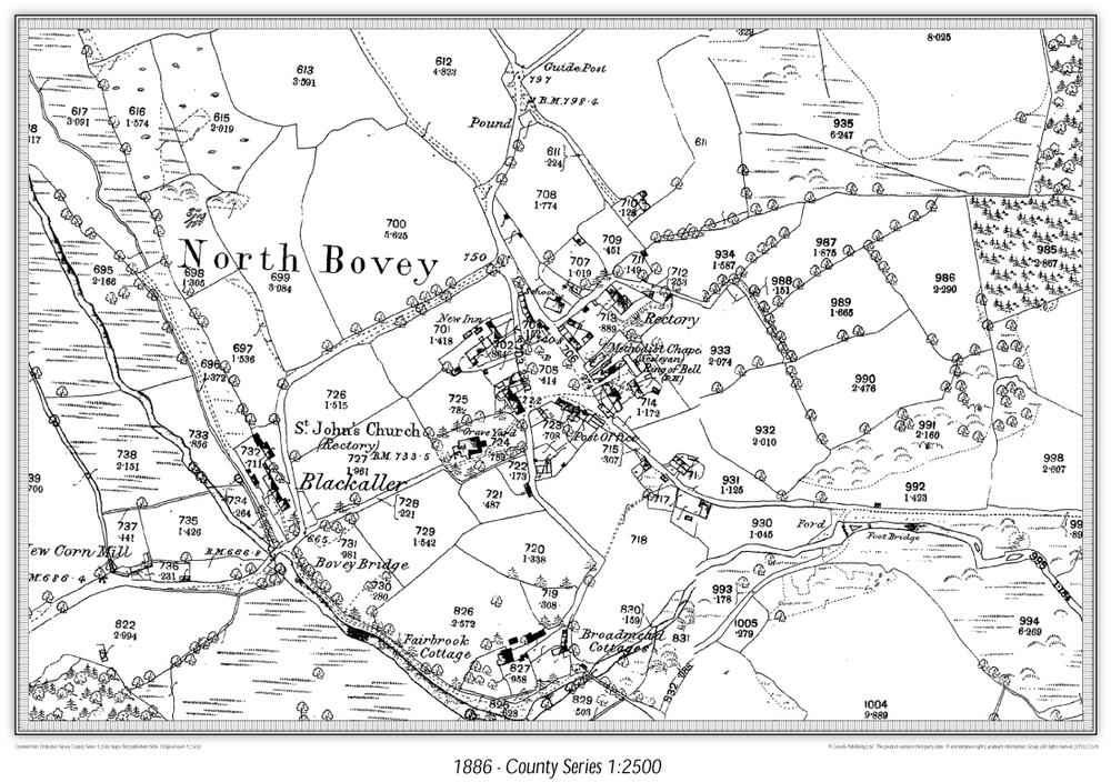 Cassini Map Maker Historical Map
